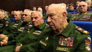 Commander Vladimir Putin visits new Russian Military Army Command Center