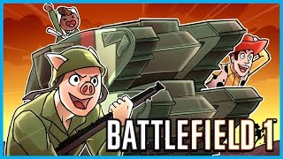 THE DEADLIEST AND SEXIEST WEAPON IN WWI!! - BATTLEFIELD 1 FUNNY MOMENTS! - CRAZY LENS FLARE!