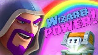 You're A Wizard Harry! | Clash Royale