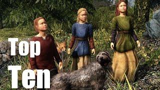 Top Ten Adoptable Children of Skyrim