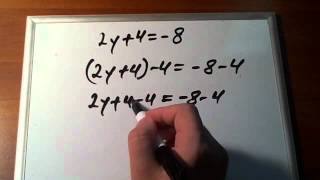 Video Tutorial on Solving Linear Equations with One Unknown (Variable)