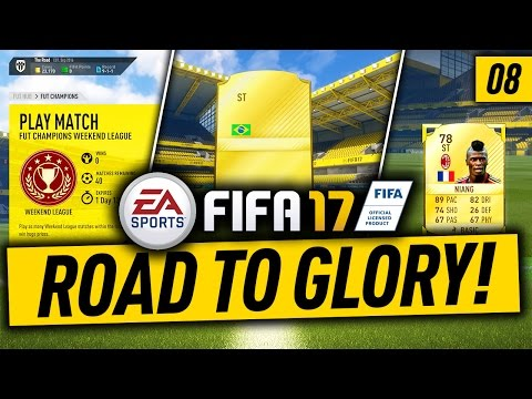 FIFA 17 RTG #8 - OVERPOWERED TEAM FOR FUT CHAMPIONS! Powered by @elgatogaming