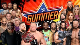 WWE SummerSlam 2019 Leaked Match Card Results Predictions