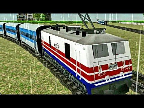 Indian Train Business : Shatabdi Express | Gameplay | Indian Train Simulator Game