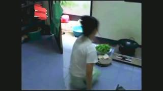 Daily life of a dak amputee from Thailand