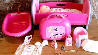 Baby Dolls Smoby Baby Nurse Dolls Bathtub and Peppa Pig Dolls Pram Stroller Baby Born Baby Annabell