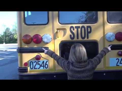 Class B CDL School Bus Pre trip demonstration 2014