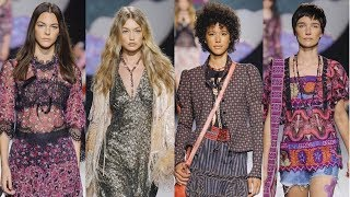 Anna Sui Spring Summer 2018 Runway Collection | NYFW