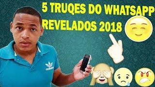 5 funções escondidas no WhatsApp , Revelado 2018 - Canal Topmais