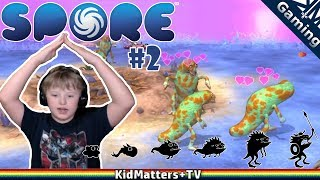 SPORE! Creature Creation Takes to LAND and makes a KILLING   Spore 2 [KM+Gaming S01E42]