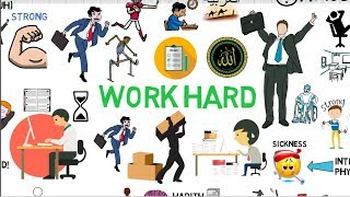HOW TO WORK HARD & BE PRODUCTIVE - Mufti Menk Animated