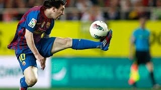 Lionel Messi - Awesome Ball Controls & Skills HD
