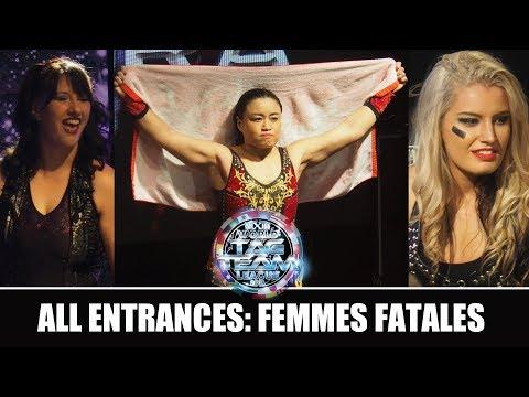 Xxx Mp4 WXw Femmes Fatales 2018 All Entrances Toni Storm Meiko Satomura Kris Wolf And More 3gp Sex