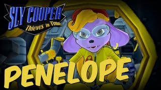 Sly Cooper: Thieves In Time Boss Penelope Black Knight No Damage Walkthrough Sly Cooper 4 PS3 VITA