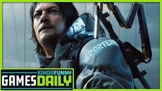 Kojima Showed First 2 Hours of Death Stranding - Kinda Funny Games Daily 01.17.19