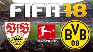 FIFA 18 - 2017-18 BUNDESLIGA - STUTTGART vs BORUSSIA DORTMUND