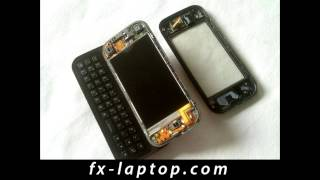 Disassembly Nokia N97 Mini - Battery Glass Screen Replacement