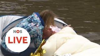LIVE: Maarten van der Weijden is gestopt met zijn elfstedenzwemtocht