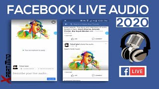 Facebook Live Audio Streaming 2017 [] How to Stream Live Audio on Facebook.