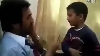 اقوى  ايد طفل  في العالم والله هتموت على نفسك من كتر الضحك