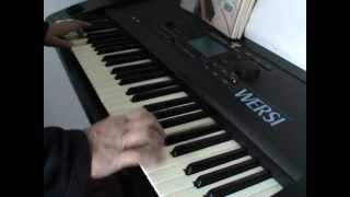 The Spotnicks - Amapola, instrumental auf Wersi Pegasus