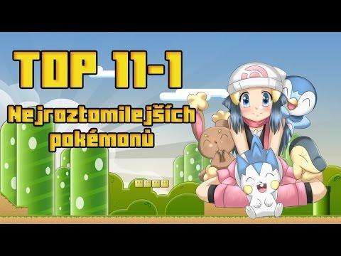 TOP 11-1 Nejroztomilejších Pokémonů