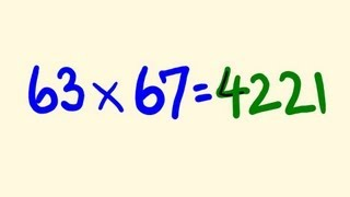 Cool math mental multiplication trick - become a genius solving math instantly!