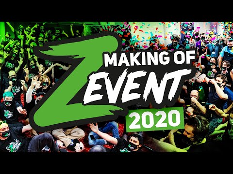 Making of ZEVENT 2020 les coulisses