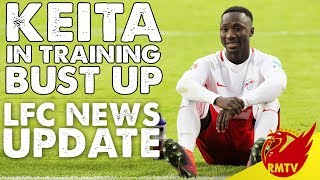 Keita In Training Ground Bust Up | #LFC Daily News