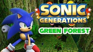 Sonic Generations - Green Forest - Walkthrough