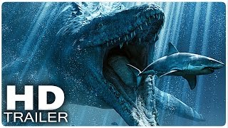 Jurassic World Alle Trailer (Jurassic Park 4 Trailer German Deutsch) 2015