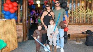 EXCLUSIVO - juliana Paes recebe Deborah Secco no aniversario do filho