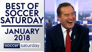 Missing £1m cash & impersonating the Chuckle Brothers | Best of Soccer Saturday | January 2018