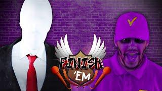 Slender Man vs Purple Guy - FINISH HIM!