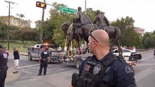 Robert E. Lee Confederate Statue removed from Dallas park