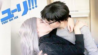 YURI!!! ON BLOOPERS : Gratuitous Kissing