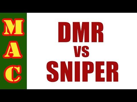 DMR vs. Sniper Rifle