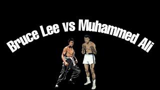 Bruce Lee and Muhammad Ali's Training Style ♛♛  ( Piercing Light)
