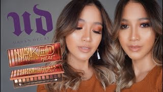 URBAN DECAY NAKED HEAT PALETTE FIRST IMPRESSION + TUTORIAL [BAHASA INDONESIA]