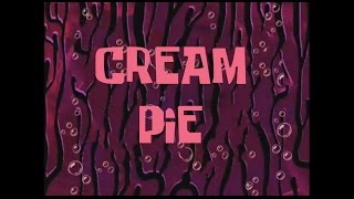 SpongeBob Music: Cream Pie