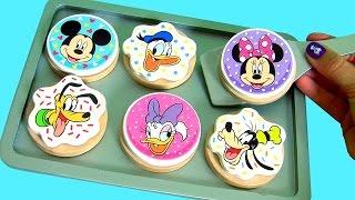 Play Doh Biscoitos de Madeira Mickey Mouse Clubhouse Margarida Pluto Donald Pateta em Portugues BR