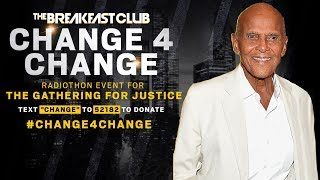 Harry Belafonte Speaks On Continuing The Path Of The Civil Rights Movement