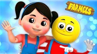 Little Miss Muffet | Kindergarten Nursery Rhymes For Babies by Farmees