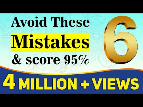 6 Mistakes You Should Never Make in Exams Board Exam 2019 Exam Tips For Students LetsTute