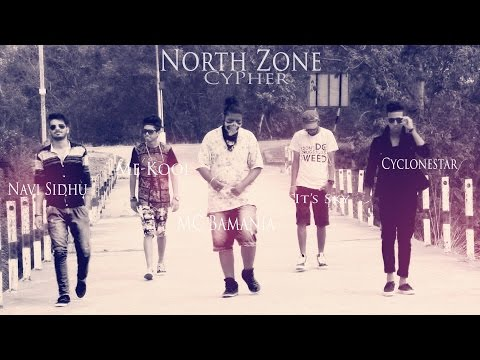 India North Zone Rap Cypher (Chandigarh) 2015 Music by Mc Bamania LBE