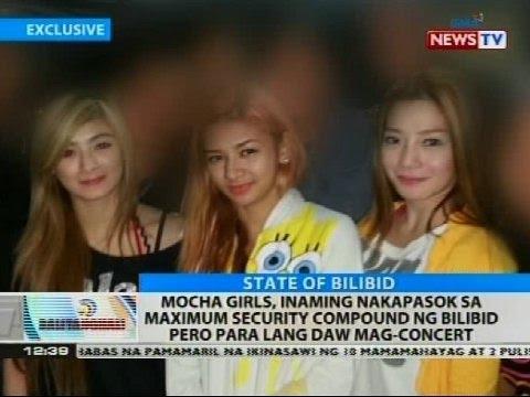 Mocha Girls inaming nakapasok sa maximum security compound ng Bilibid pero para lang daw ma concert