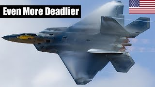 The Air Force F-22 Has Two New Weapons. Here