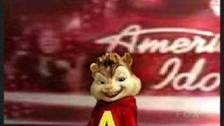 Alvin the Chipmunk American Idol Audition -  I'll be there