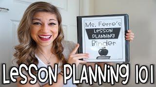 Lesson Planning 101   That Teacher Life Ep 21