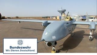 Die Bundeswehr mit Heron 1 in Mali: der erste Aufklärungsflug im Einsatzland